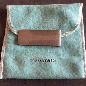 Tiffany & Co. engine turned money clip